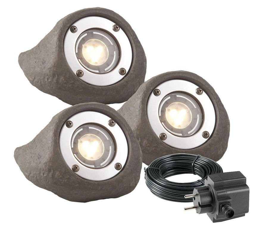 GARDEN LIGHTS LAPIS TUINSPOT SET 3 STUKS