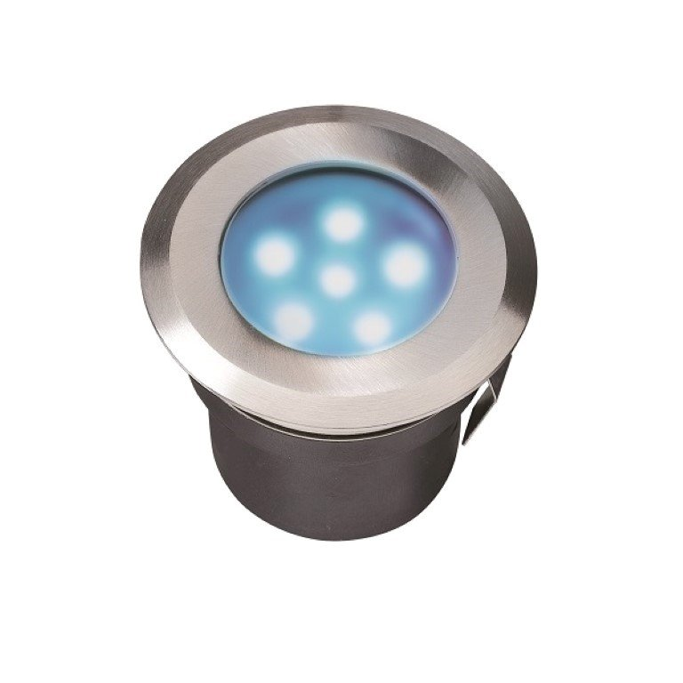 GARDEN LIGHTS SIRIUS INBOUWSPOT BLAUWE LED