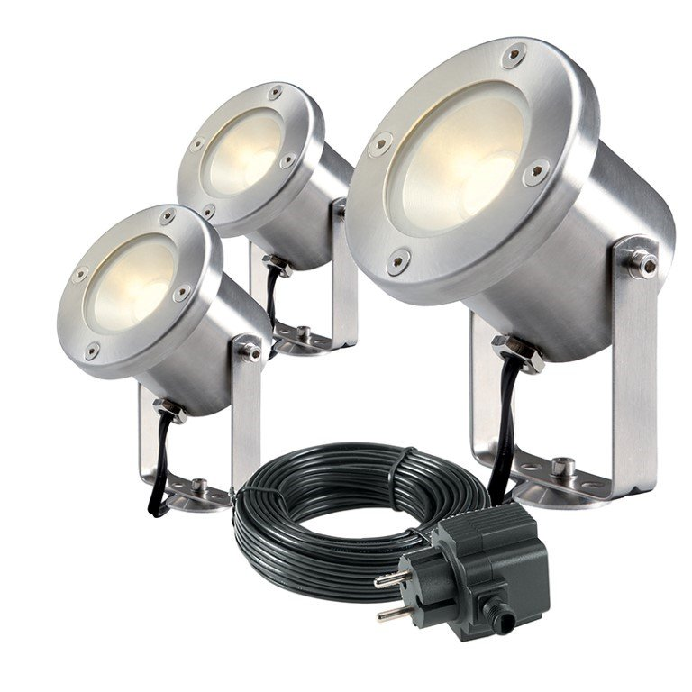GARDEN LIGHTS CATALPA TUINSPOT SET 3 STUKS
