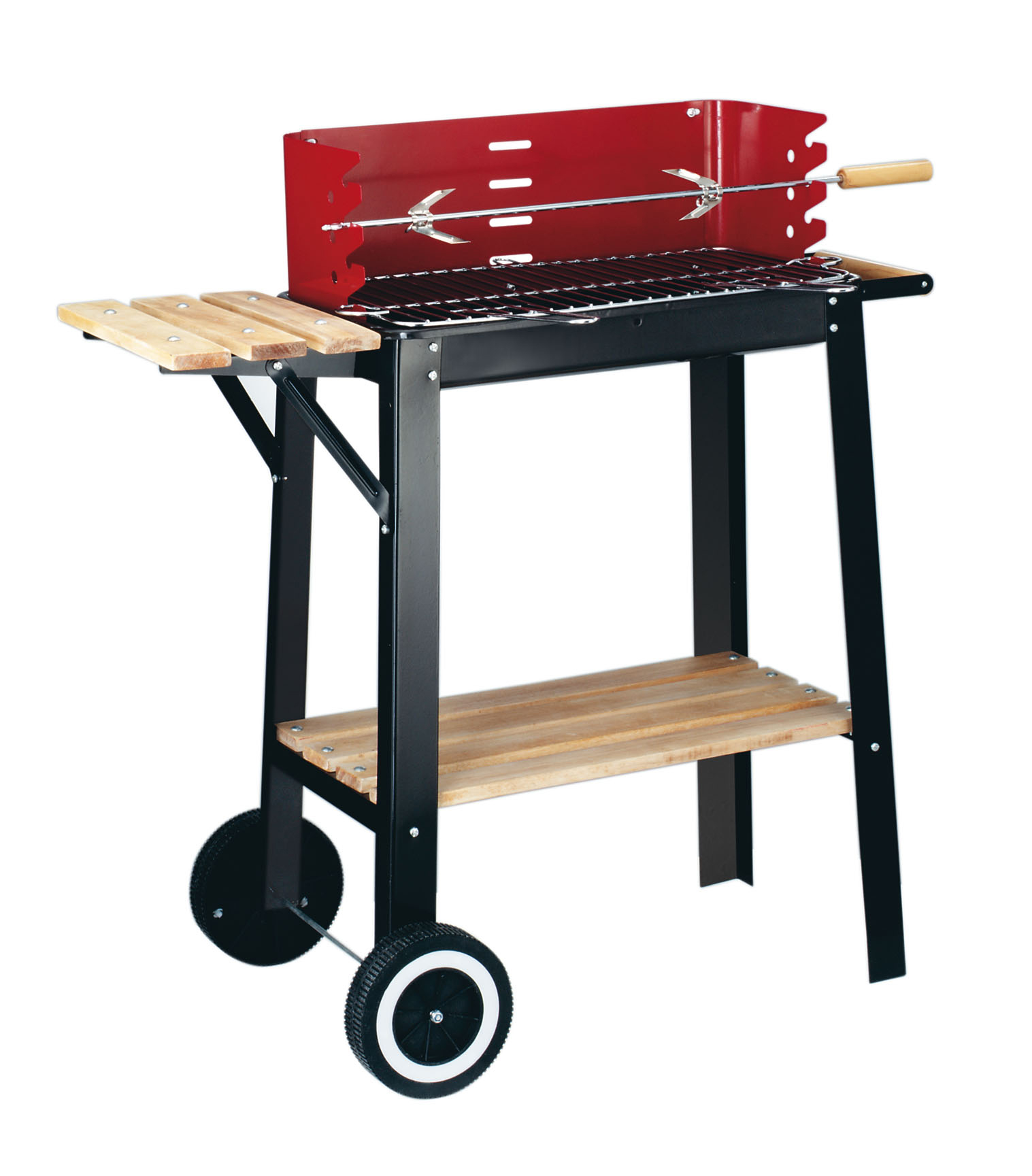 GARDEN GRILL HOUTSKOOL BARBECUE RED LINE COMPACTE