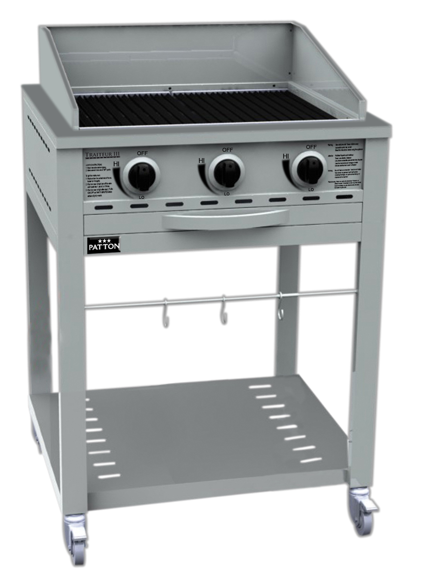 Patton Traiteur III 3 Burner