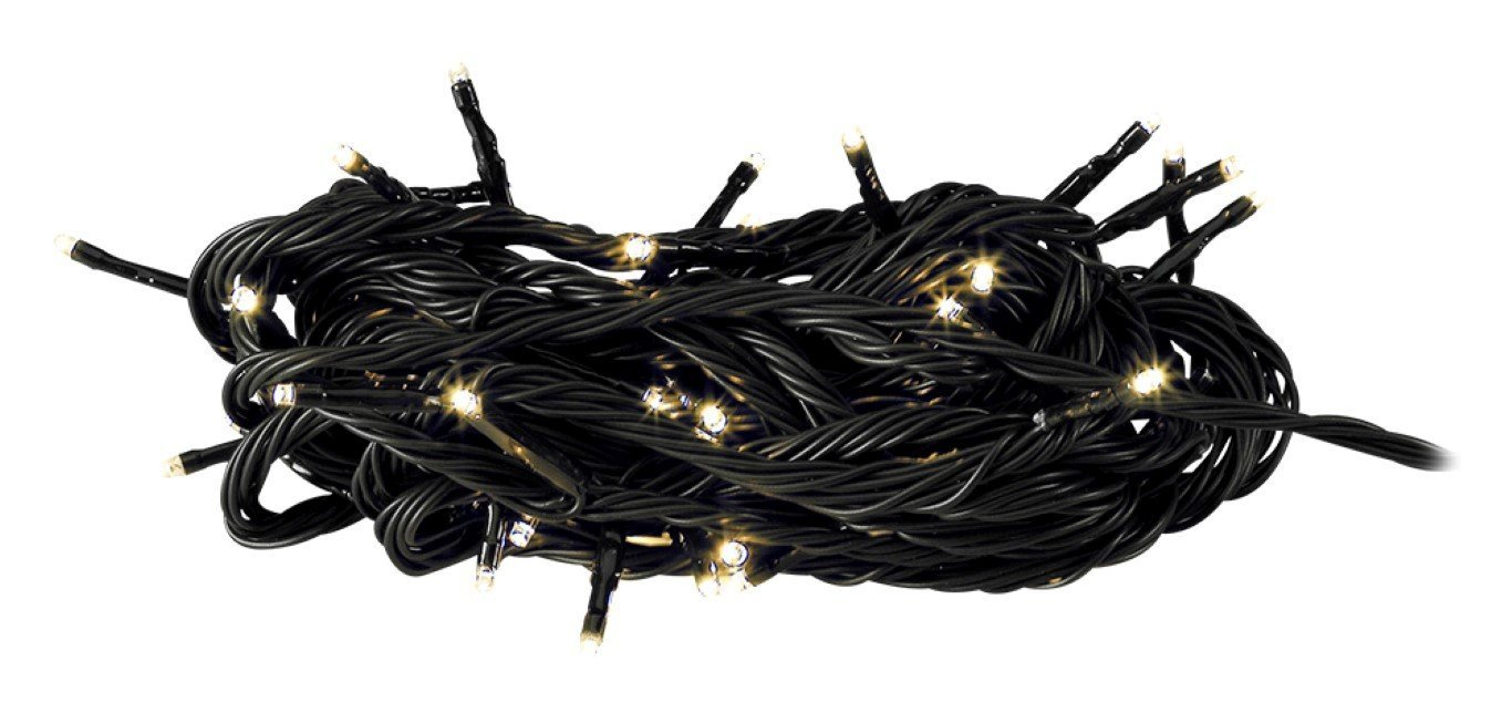 GARDEN LIGHTS LINEA 1, 100 LED'S STRING WARM WIT