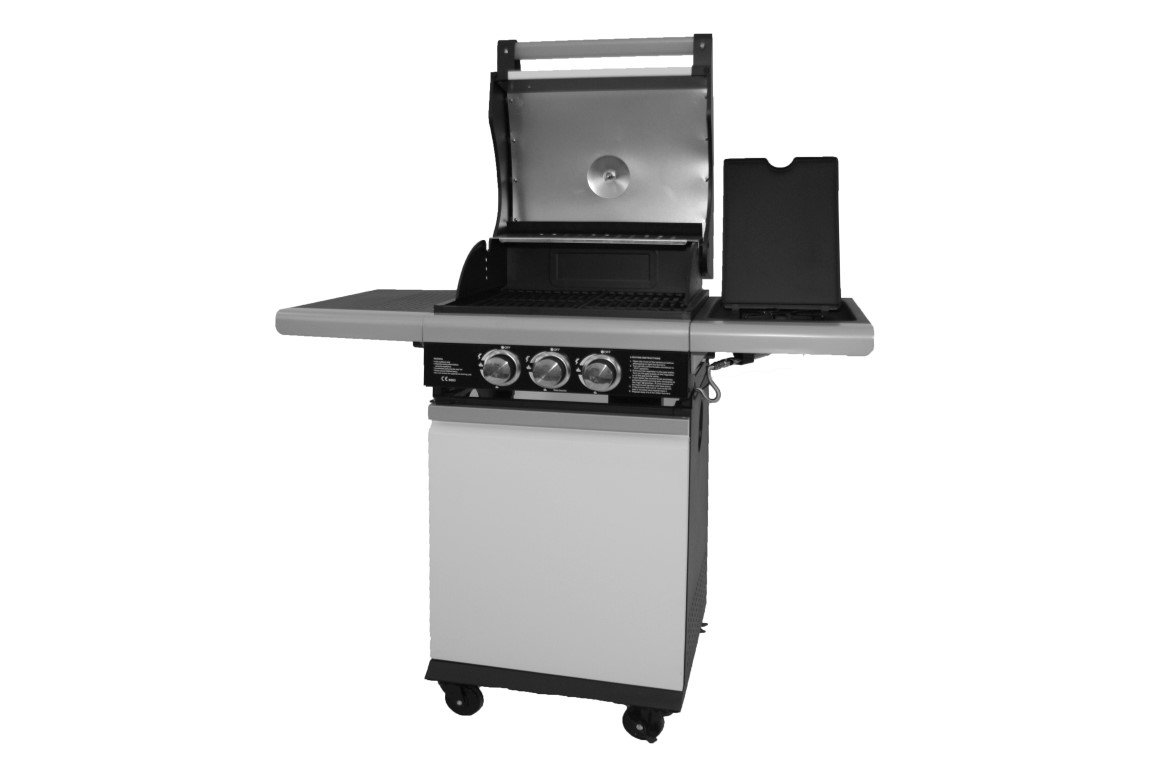 PATTON PATIO CHEF 2+ BURNER ALPINE WHITE
