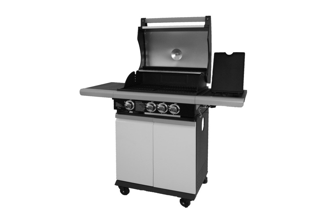 PATTON PATIO CHEF 3+ BURNER ALPINE WHITE