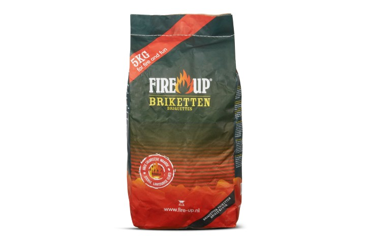 FIRE UP HOUTSKOOLBRIKETTEN 5 KG