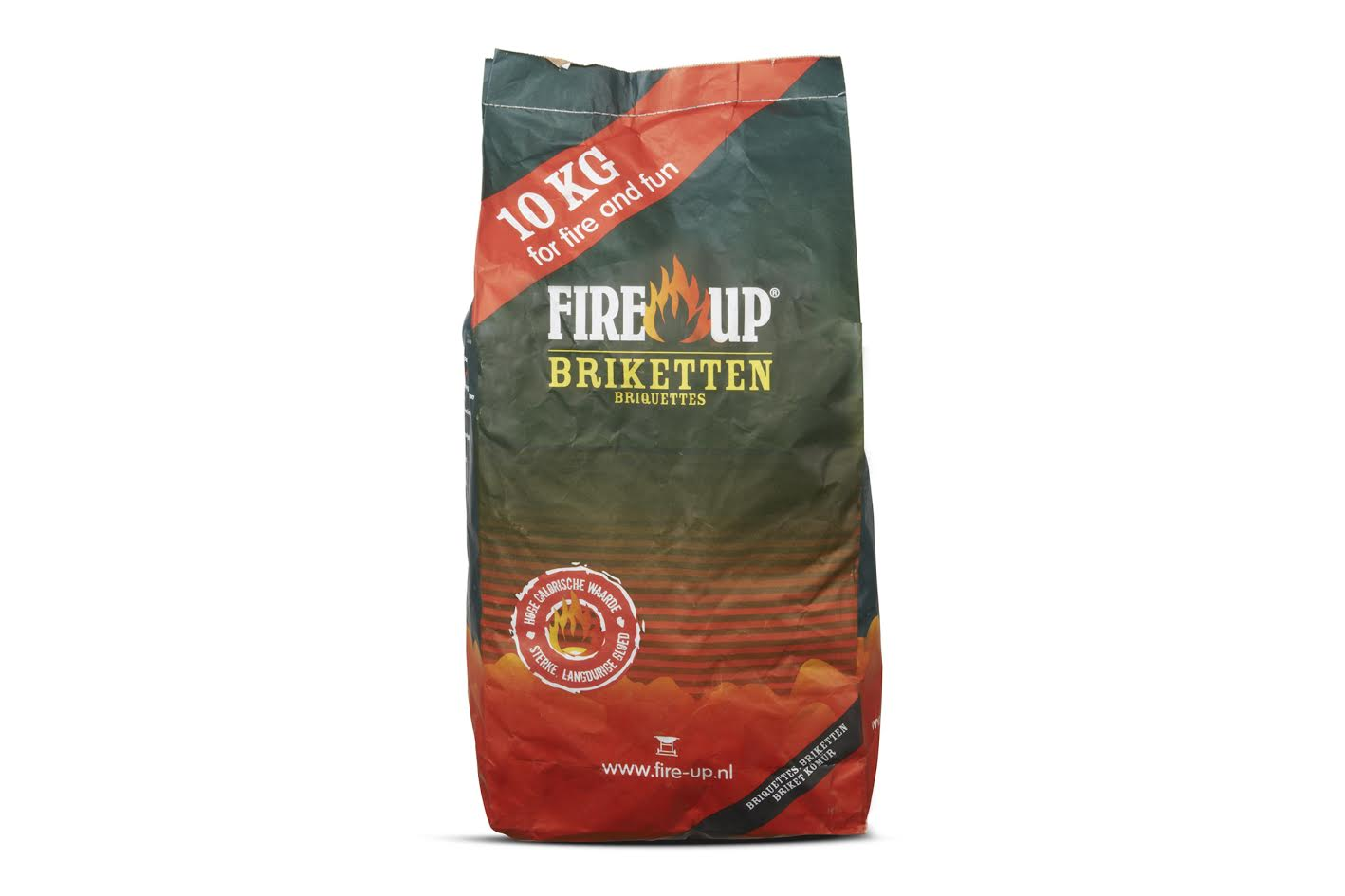 FIRE UP HOUTSKOOLBRIKETTEN 10 KG