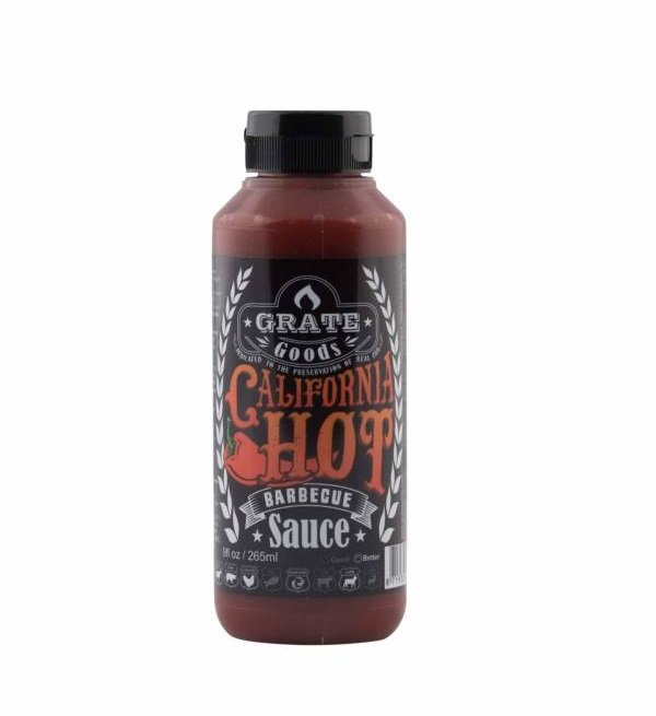 GRATE GOODS CALIFORNIA HOT BARBECUE SAUS 265 ML