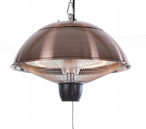PATIO HEATER HALOGEEN, COPPER LOOK, CEILING MOUNTED, CE11K