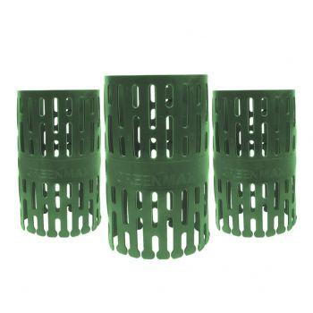 Boomstambeschermer TreeProtect Groen - 3 stuks kopen bij Tuinartikel Totaal