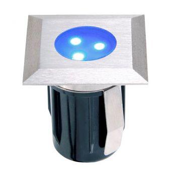GARDEN LIGHTS ATRIA INBOUWSPOT BLAUWE LED  WWW.TUINARTIKELTOTAAL.NL