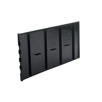 Wortelgeleidingspaneel Zwart, vaste koppelstukken, wortelankers en geleidingsribben, PP  LR30 (TRG30)