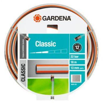 """GARDENA CLASSIC SLANG 1/2"""" (13 mm) 18 M  WWW.TUINARTIKELTOTAAL.NL"""