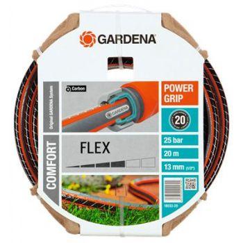 """GARDENA COMFORT FLEX SLANG 1/2"""" (13 mm) 20 M  WWW.TUINARTIKELTOTAAL.NL"""