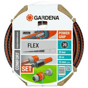 """GARDENA COMFORT FLEX SLANG 1/2"""" (13 mm) 20 M + EXTRA  WWW.TUINARTIKELTOTAAL.NL"""