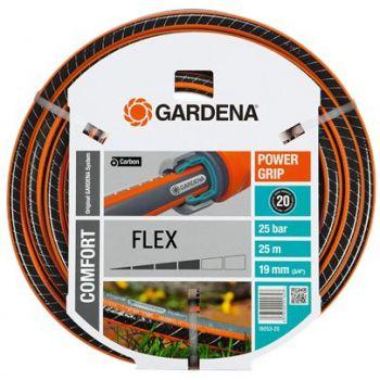 """GARDENA COMFORT FLEX SLANG 3/4"""" (19 mm) 25 M   WWW.TUINARTIKELTOTAAL.NL"""