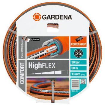 """GARDENA COMFORT HIGHFLEX SLANG 1/2"""" (13 mm) 50 M   WWW.TUINARTIKELTOTAAL.NL"""