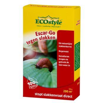 ECOSTYLE ESCAR GO 500 GR  WWW.TUINARTIKELTOTAAL.NL