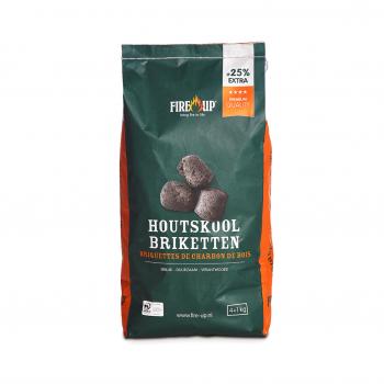 Fire-Up Houtskool Briketten Premium Quality 5 kg kopen