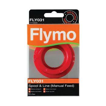 FLYMO ACCESSOIRES FLY031 ENKELE DRAADSPOEL  WWW.TUINARTIKELTOTAAL.NL