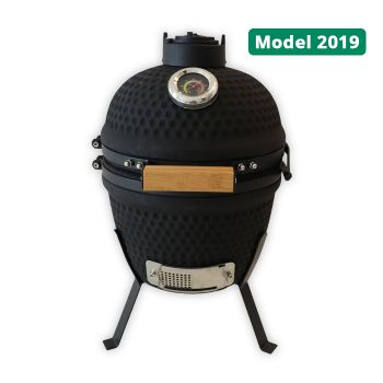 Patton Kamado Classic Matzwart 13 Inch, model 2019