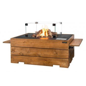 HAPPY COCOONING HOUTEN SIDE TABLE TEAKHOUT KLEIN  WWW.TUINARTIKELTOTAAL.NL