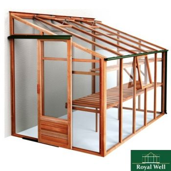 ROYAL WELL MUURKAS NEW CLASSIC LEAN-TO 106  WWW.TUINARTIKELTOTAAL.NL