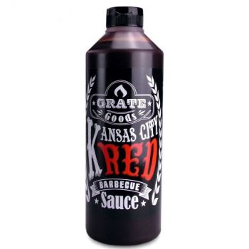 GRATE GOODS KANSAS CITY RED BARBECUE SAUS 775 ML  WWW.TUINARTIKELTOTAAL.NL