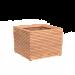 ADEZZ BOOMBAK HARDHOUT - MALAGA VIERKANT 1000 x 1000 x 746 MM