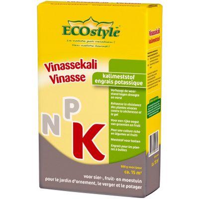 ECOSTYLE VINASSEKALI 0,8 KG  WWW.TUINARTIKELTOTAAL.NL
