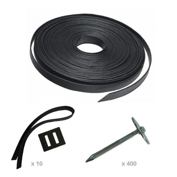 Rubber Boomband, Boomband Aanschuiflus en Boomspijkers bestellen bij Tuinartikel Totaal