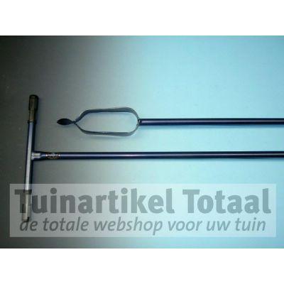 GRONDBOOR GESMEED 10 CM  WWW.TUINARTIKELTOTAAL.NL