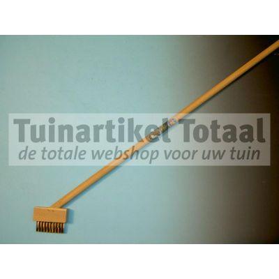 VOEGENBORSTEL MET STEEL  WWW.TUINARTIKELTOTAAL.NL