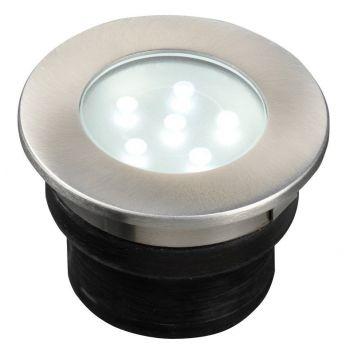 GARDEN LIGHTS BREVUS INBOUWSPOT WITTE LED  WWW.TUINARTIKELTOTAAL.NL