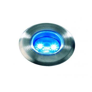 GARDEN LIGHTS ASTRUM INBOUWSPOT BLAUWE LED  WWW.TUINARTIKELTOTAAL.NL