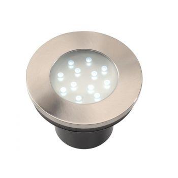 GARDEN LIGHTS HIBRIA INBOUWSPOT WITTE LED  WWW.TUINARTIKELTOTAAL.NL
