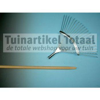 BLADHARKSTEEL 150 X 2,4 CM  WWW.TUINARTIKELTOTAAL.NL