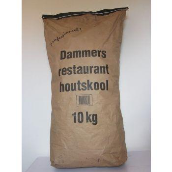 DAMMERS HOUTSKOOL 10 KG  WWW.TUINARTIKELTOTAAL.NL