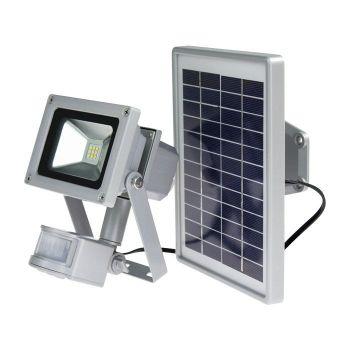 SCHWABE SMD-LED LAMP 10 WATT INCL ZONNEPANEEL EN BEWEGINGSMELDER  WWW.TUINARTIKELTOTAAL.NL
