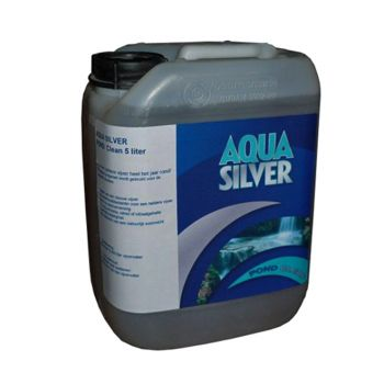 AQUA SILVER POND CLEAN 5 LITER  WWW.TUINARTIKELTOTAAL.NL