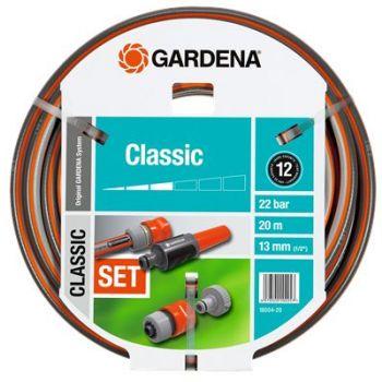 "GARDENA CLASSIC SLANG 1/2"" (13 mm) 20 M + EXTRA  WWW.TUINARTIKELTOTAAL.NL"