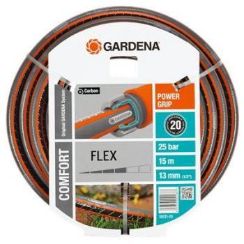 """GARDENA COMFORT FLEX SLANG 1/2"""" (13 mm) 15 M  WWW.TUINARTIKELTOTAAL.NL"""