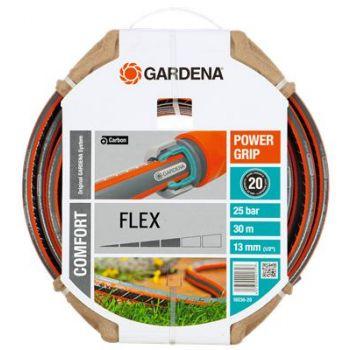 """GARDENA COMFORT FLEX SLANG 1/2"""" (13 mm) 30 M  WWW.TUINARTIKELTOTAAL.NL"""