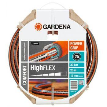 """GARDENA COMFORT HIGHFLEX SLANG 1/2"""" (13 mm) 20 M   WWW.TUINARTIKELTOTAAL.NL"""