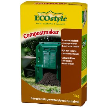 ECOSTYLE COMPOSTMAKER 1KG  WWW.TUINARTIKELTOTAAL.NL