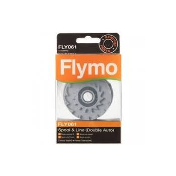 FLYMO ACCESSOIRES FLY061 DUBBELE DRAADSPOEL  WWW.TUINARTIKELTOTAAL.NL
