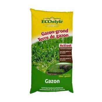 ECOSTYLE GAZON GROND ACTISOL 40 LITER  WWW.TUINARTIKELTOTAAL.NL