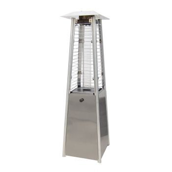 SUNRED MINI TABLE FLAME TOWER RVS MPF15S  WWW.TUINARTIKELTOTAAL.NL