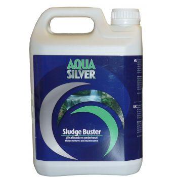 AQUA SILVER SLUDGE BUSTER 2500 ML  WWW.TUINARTIKELTOTAAL.NL