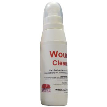 AQUA SILVER WOUNDCLEANER  WWW.TUINARTIKELTOTAAL.NL