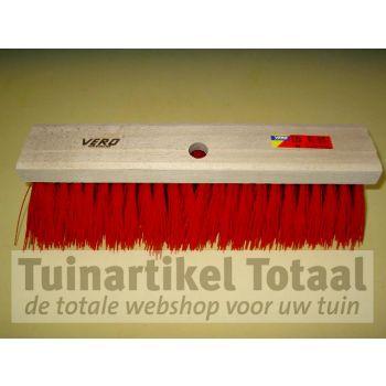 VERO STRAATBEZEM ROOD 80 41 CM  WWW.TUINARTIKELTOTAAL.NL